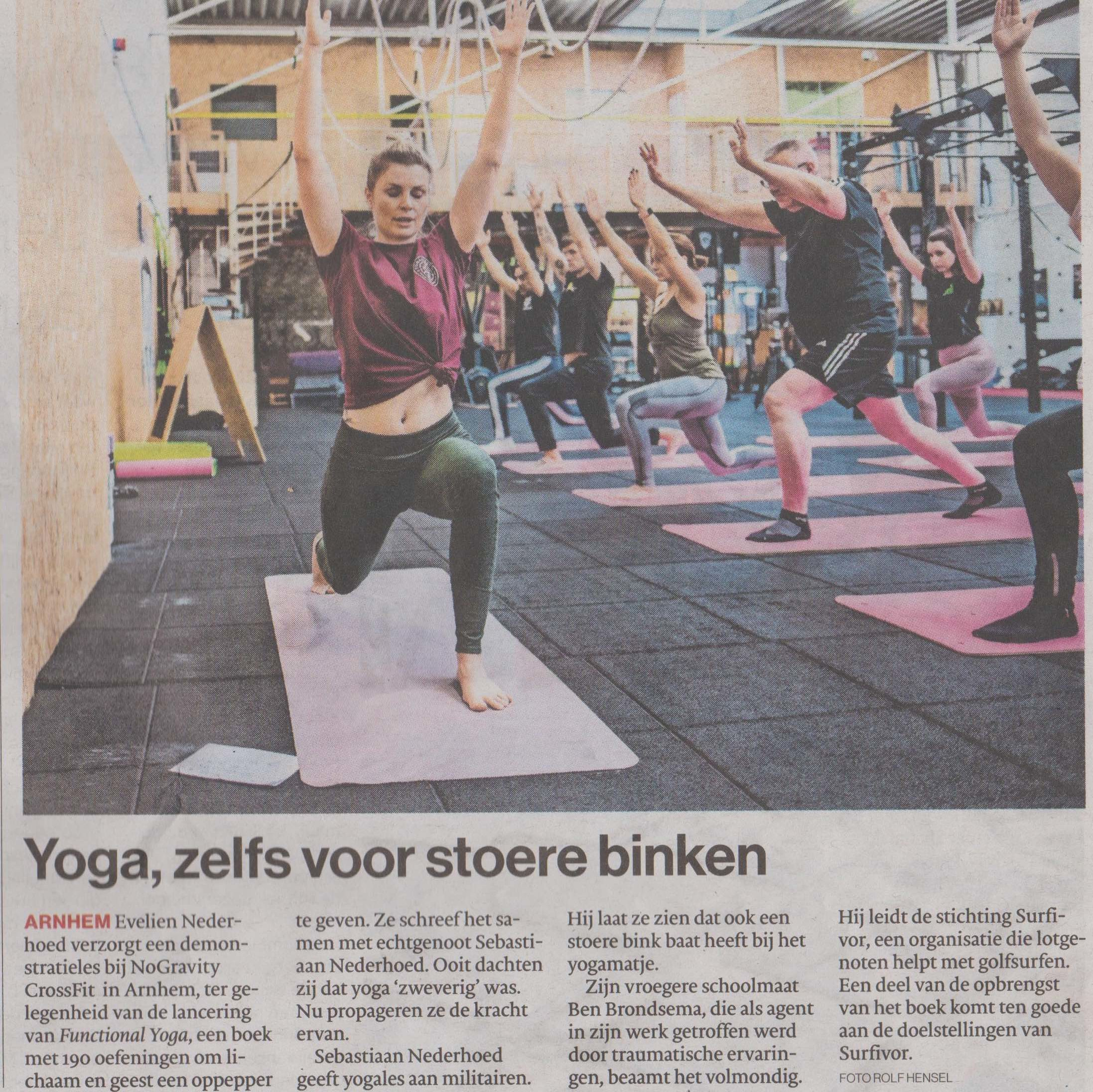 Functional Yoga CrossFit Arnhem No Gravity